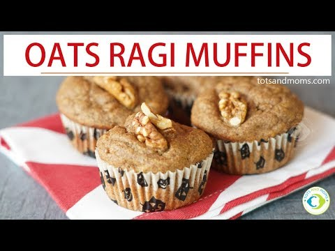 oats-&-ragi-muffins-for-toddlers-&-kids-|-healthy-bake---finger-food-recipe-for-8-months