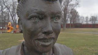 Lucille Ball statue creates controversy in small village
