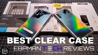 Best Clear Case for The Samsung Galaxy Note 10 Plus Aura Glow