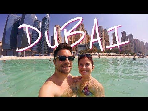 Dubai City Break - Burj, Fountains, Madinat Jumeirah and Dubai Marina beach