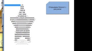 Создание рисунков клавиатурой