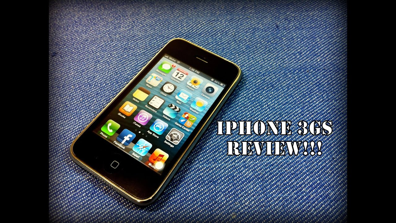 Iphone 3gs Apple Iphone 3gs Review Ios 6