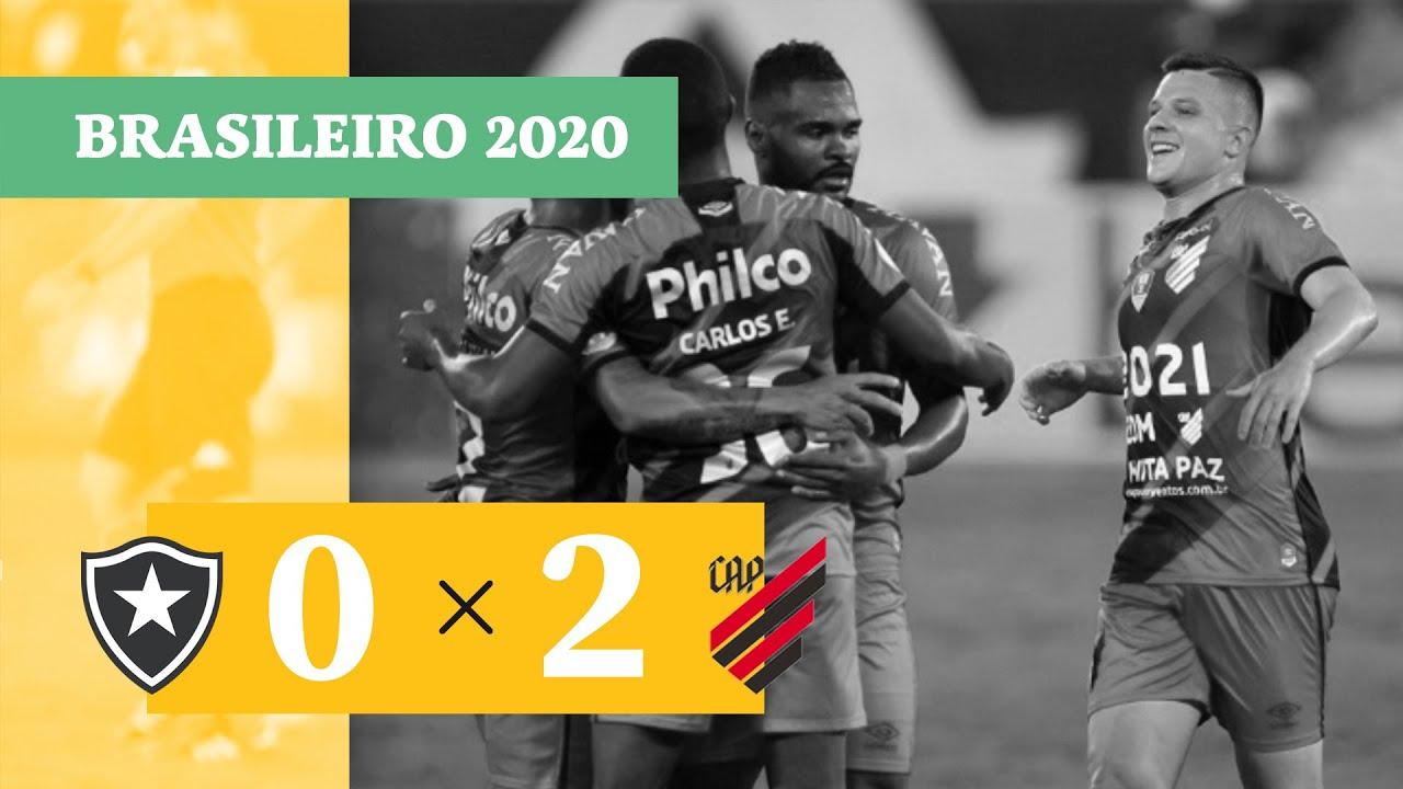Ботафого  0-2  Атлетико Паранаэнсе видео