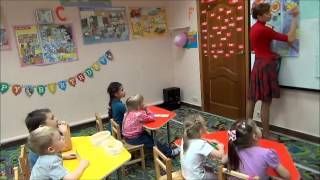 Занятие по рисованию для дошкольников
