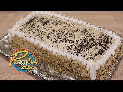 Praktična žena - Kapućino torta