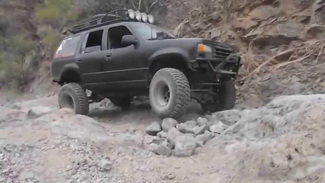 medium resolution of 91 ford explorer off road