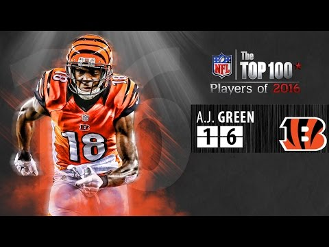#16: A.J. Green (WR, Bengals) | Top 100 NFL Players of 2016