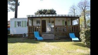 Mobil-home  A035, Camping Atlantique Parc 4 étoiles, Lovacances La Palmyre