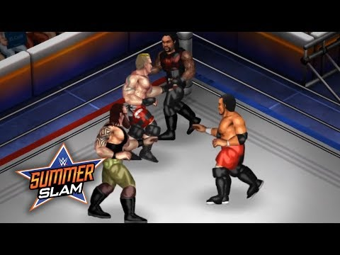 WWE SUMMERSLAM 2017 CHAMPIONSHIP MATCHES (Fire Pro Wrestling World Sims)
