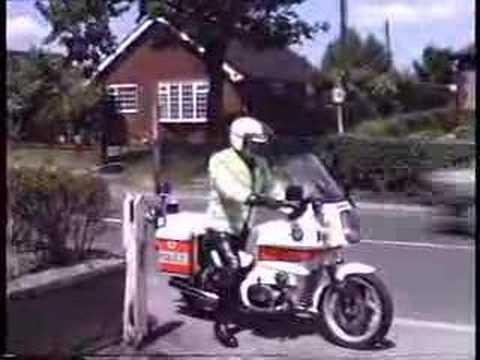 Staffordshire Police Bmw R80rt Youtube