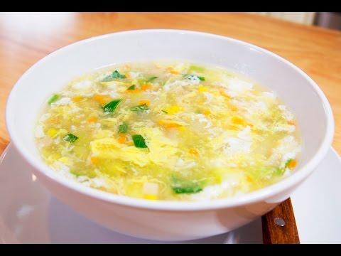 最棒蔬菜蛋花湯的秘訣 | 美味家常料理食譜 | 【美食天堂 CiCi's Food Paradise】