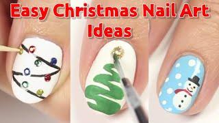 Easy Christmas Nail Art Designs Ideas   Best Christmas Nail Ar…