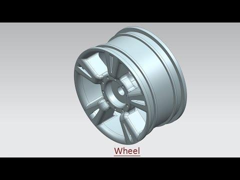 Wheel (Video Tutorial) Siemens NX
