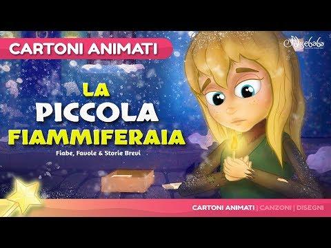 La Piccola Fiammiferaia storie per bambini - Cartoni Animati - Fiabe e Favole per Bambini
