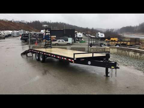 Bumper pull flatbed trailer rental near me