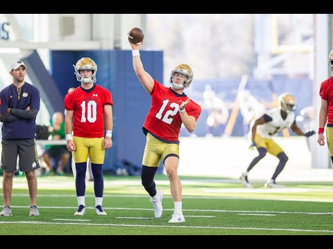 ANALYSIS: Breaking Down Notre Dame's First Spring Practice