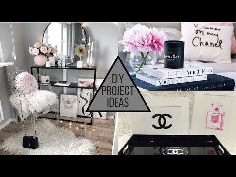 2019 DIY Beauty & Makeup Room Hacks and Decorating Ideas
