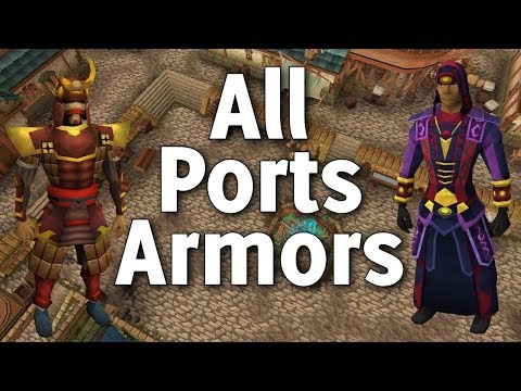 Runescape 3 - All Port Armours! Almost done with 1,000 QBD and DAT MAX! - Commentary