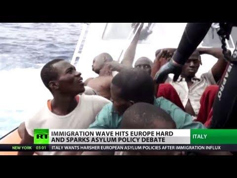 Migrant Tsunami: Italy chokes as EU states fail to share immigration burden