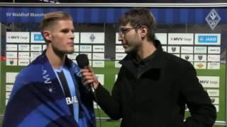 Stimmen nach dem Spiel SV Waldhof - 1. FC Kaiserslautern II