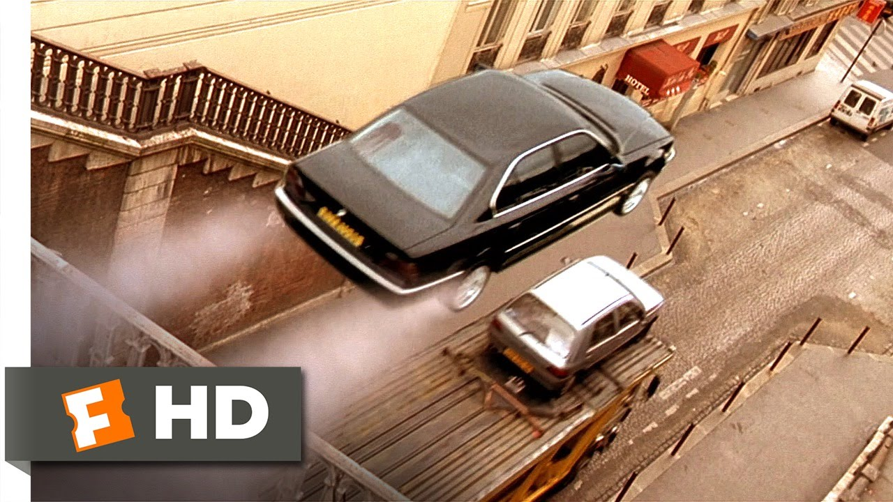 the transporter 1 5 movie clip a sick car chase 2002 hd youtube. Black Bedroom Furniture Sets. Home Design Ideas