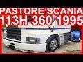 PASTORE Scania 113H 360 1995 Branco #SCANIA
