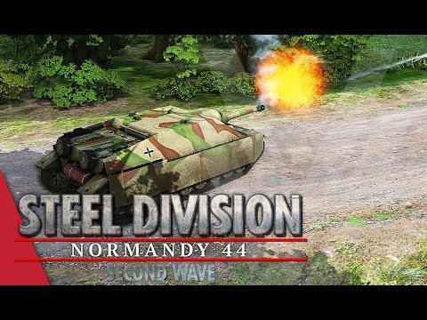 Losing The Initiative! Steel Division: Normandy 44 Gameplay (Mont Ormel, 3v3)