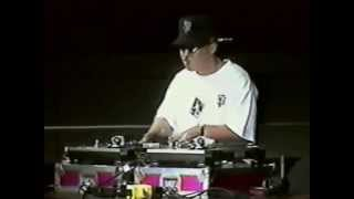 DJ Streak (STA) at 1998 Import Showoff DJ Battle, San Diego