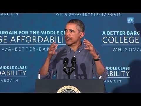 President Obama Speaks on College Affordability at Henninger High School