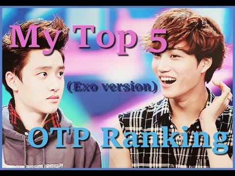 MY TOP 5 EXO SHIP
