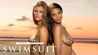Download Kate Upton, Chrissy Teigen & More Recreate Iconic Covers In Bodypaint | Sports Illustrated Swimsuit Mp3 and Videos