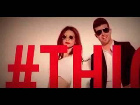 Think, that robin thicke blurred lines idea))))
