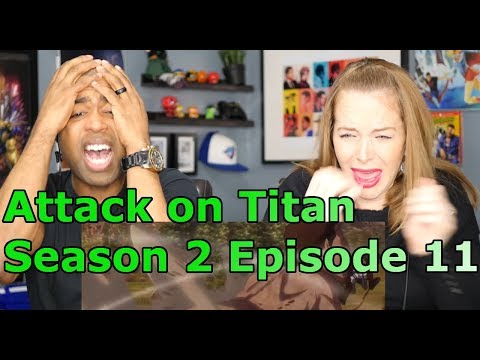 "UNCUT Attack on Titan Season 2 Episode 11 ""Charge"" (Reaction🔥)"