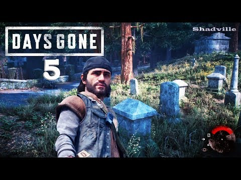 Кладбище Пайонир ▬ Days Gone. Жизнь после Прохождение #5