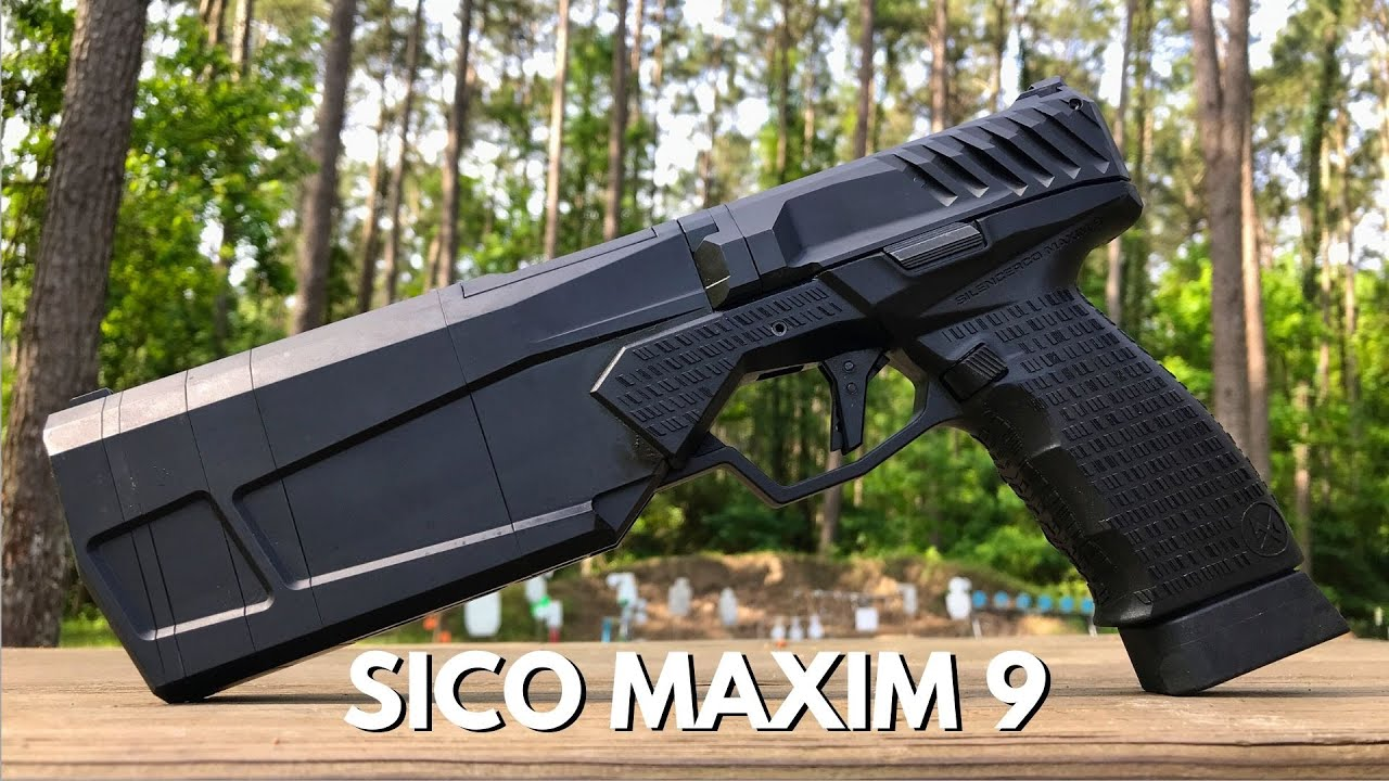 Maxim9 - SilencerCo Integrally Suppressed 9mm Pistol Review