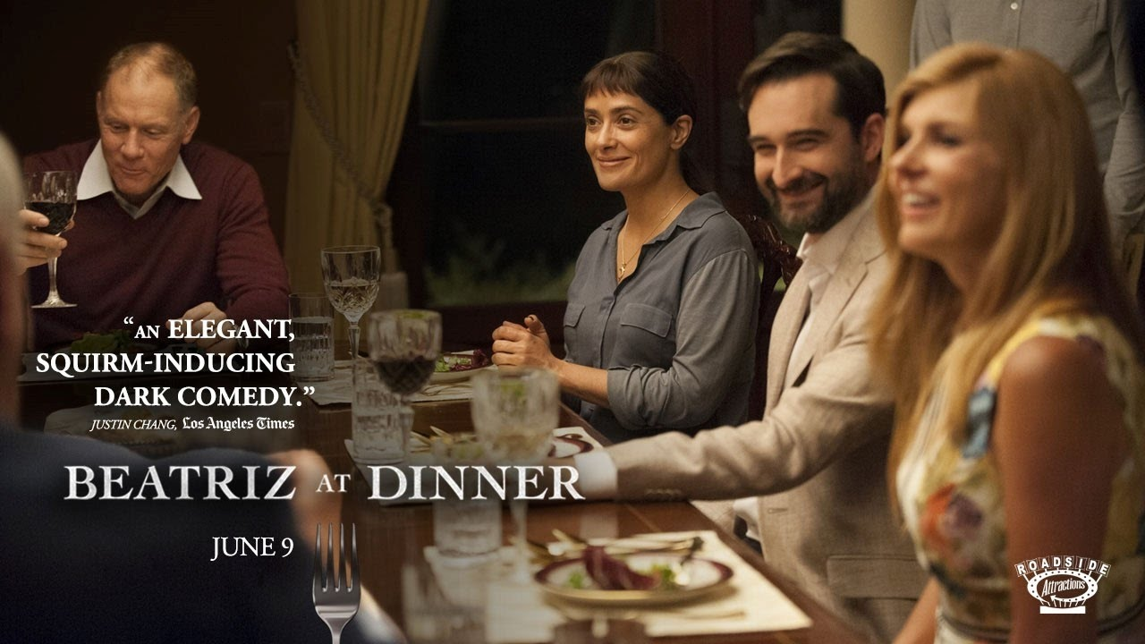 Beatriz at Dinner review – Salma Hayek takes on white privilege in