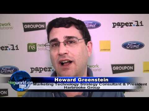 Howard Greenstein - Interview BlogWorld New York