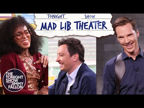 Mad Lib Theater with Benedict Cumberbatch and Kerry Washington | The Tonight Show