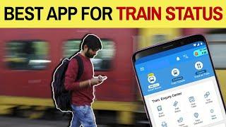 🚂 BEST APP for Train Running Status, PNR Enquiry
