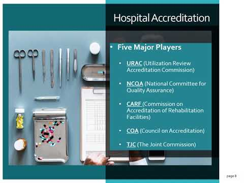 Lecture 4: Laboratory Accreditation & Accrediting Agencies