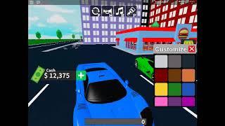 Roblox Vehicel Tycoon #1 274 kmh dans la ville