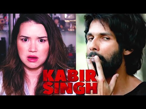 KABIR SINGH | Achara's Reaction! | Shahid Kapoor | Official Trailer