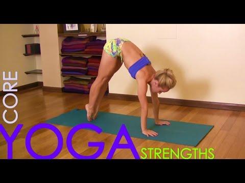 Core Strength Yoga: How to Float Forward and Land Softly into Uttanasana