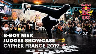 Red Bull BC One Cypher France 2019 | Judge demo: Niek
