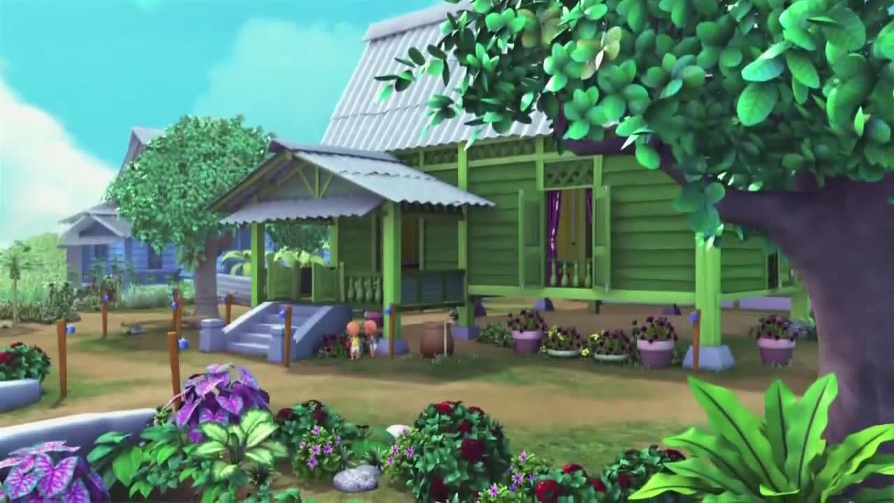 Desain Rumah Upin Ipin