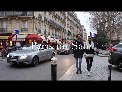 Paris on sale, January Sales. Designer fashion bargain at Bon Marche.