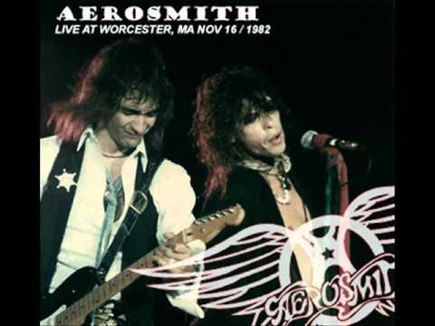 Aerosmith Walk This Way Worcester 1982