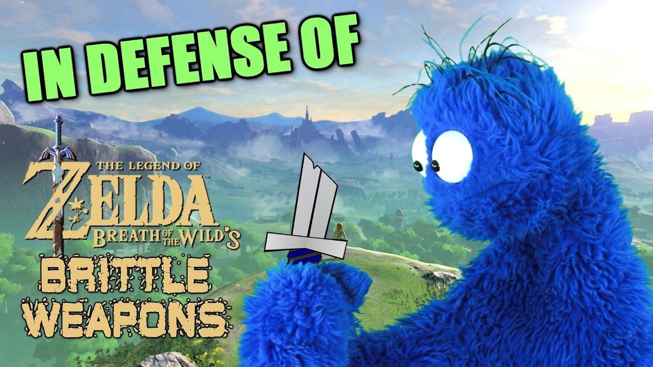 Zelda's Sword Breakage Is Some Bullshit