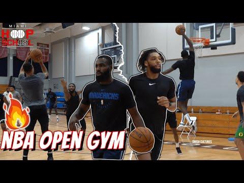 Jahlil Okafor, Tim Hardaway, Royce O'Neale go CRAZY in INTENSE NBA Open Gym