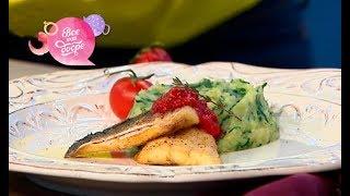 Рецепт счастья: рыба под клубничным соусом от Евгения Клопотенко